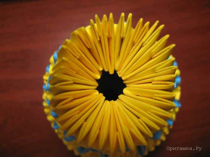 Сборка 25-го ряда вазы