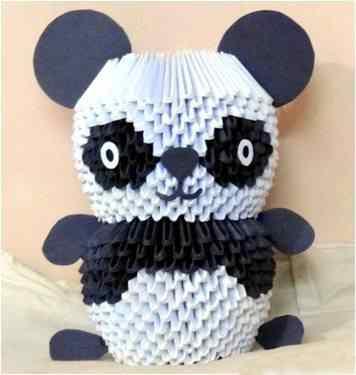 Модульное оригами «Панда»
