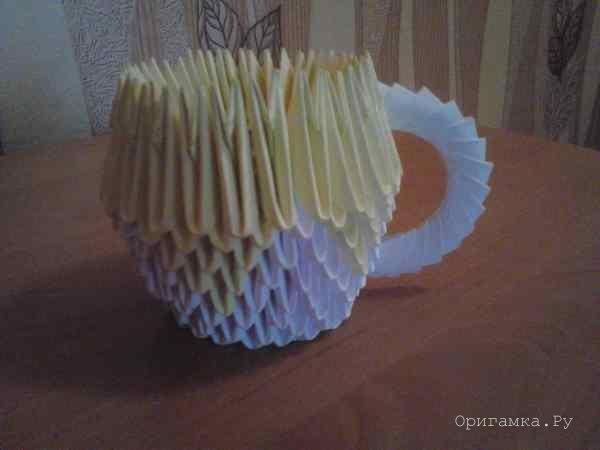 Схема чашка из модулей