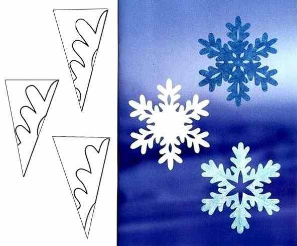 Мастер-класс снежинок из бумаги