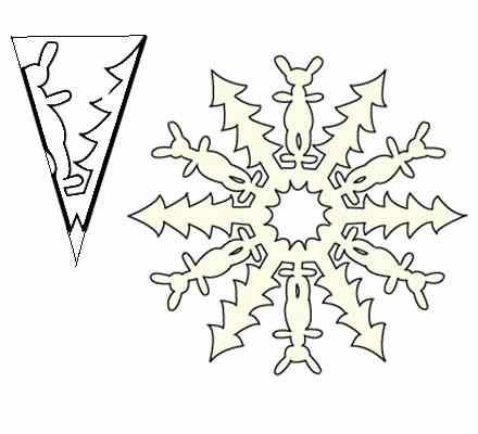 Снежинки нарисованные своими руками