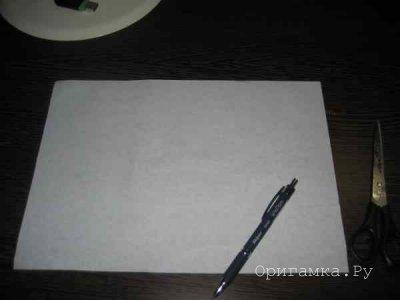 Снежинка из бумаги. Мастер-класс