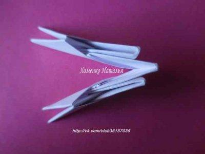 Модульное оригами коза