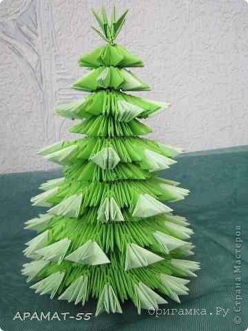 Модульное оригами «Колобок и