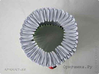 Модульное оригами «Колобок и Ёлочка»