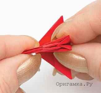 Индюк модульное оригами