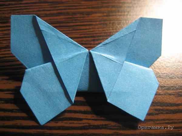 Оригами бабочки из бумаги мастер класс