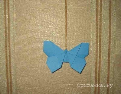 Бабочка оригами мастер класс