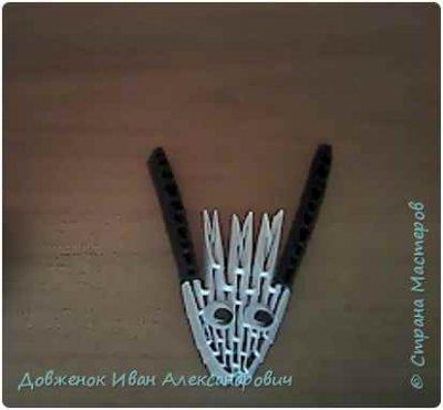 Козочка модульное оригами - автор Довженок Иван
