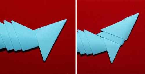 Схема оригами модульное самолёт фото 351