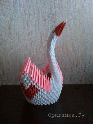Работы в технике модульного оригами - Анастасия Лис