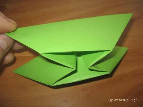 Оригами из бумаги роза схема фото 982