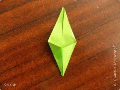Оригами подснежники