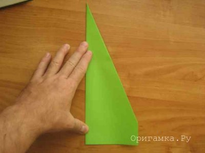 Самолет оригами из бумаги