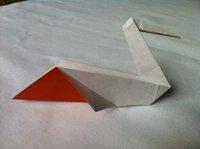 Бумажный пеликан