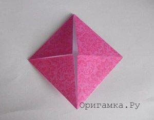 16-конечная модульная звезда оригами