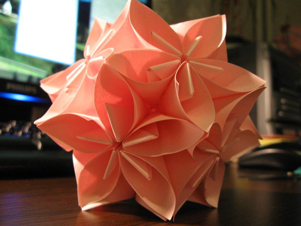 Шар своими руками оригами