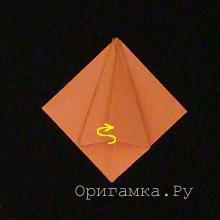 Оригами «Тюльпан»
