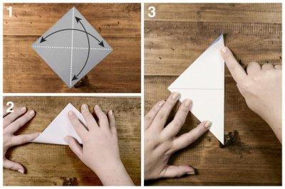 Оригами лодочка