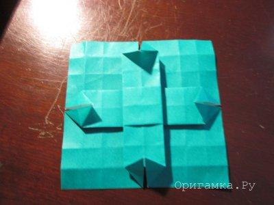 Оригами «Китайская ваза»