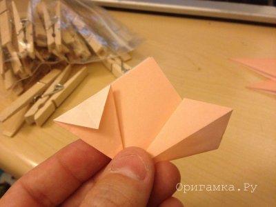 Оригами «Рождественская елка»