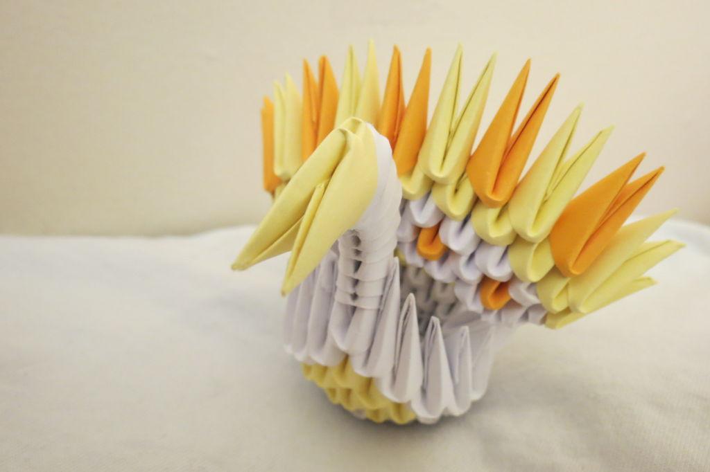 Поделка из бумаги видео из модулей - Оригами китайское модульное, Мастер-класс Страна Мастеров