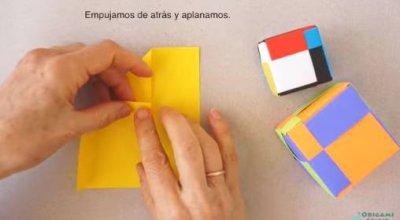 Оригами куб