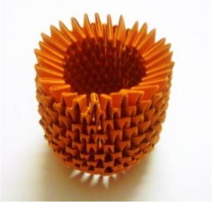 Модульное оригами «Ананас»