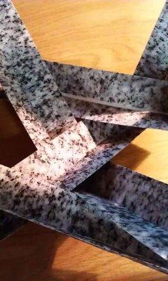 Модульное оригами из пентагонов