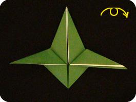 Стрекоза оригами