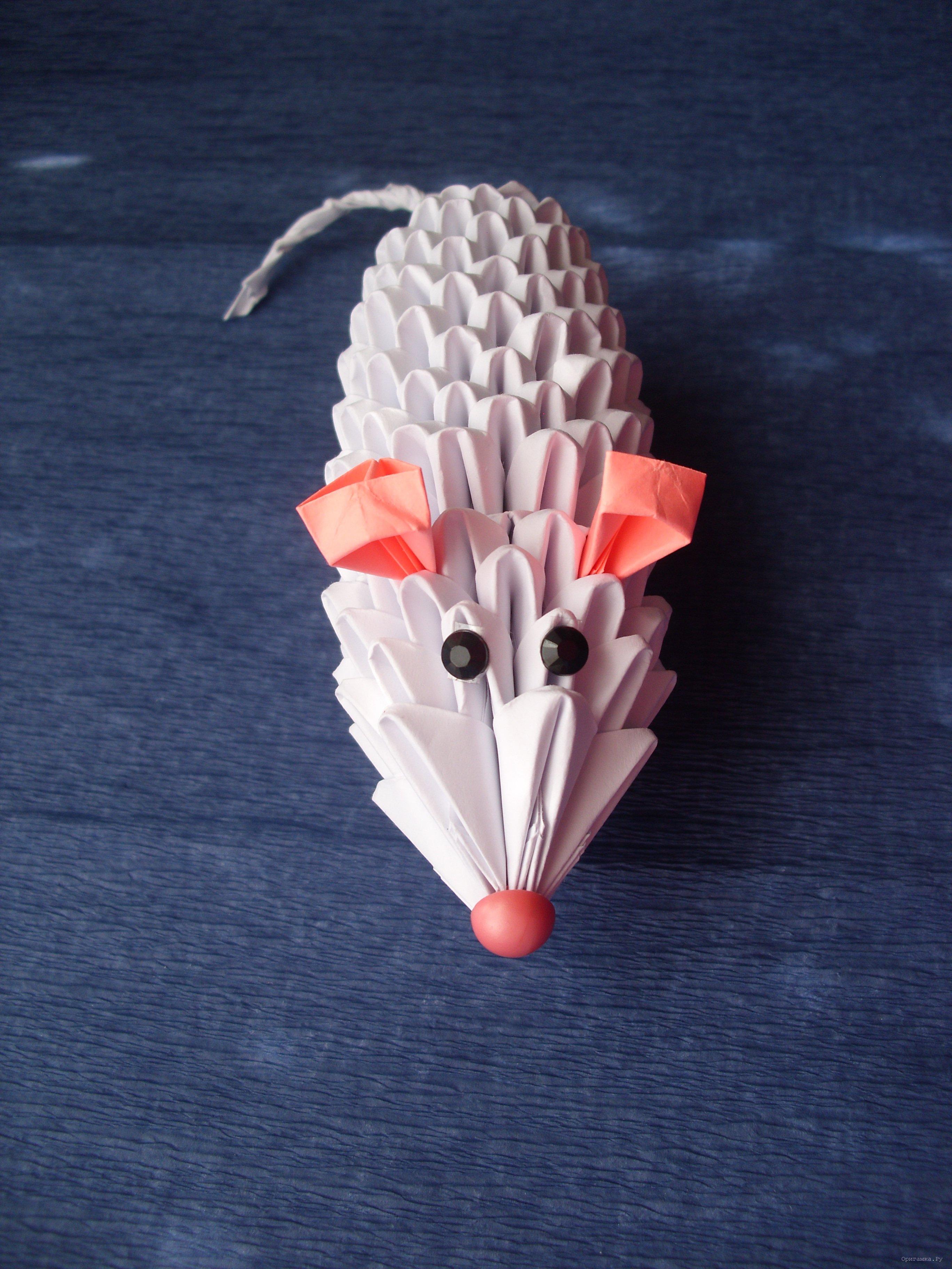 В технике модульное оригами