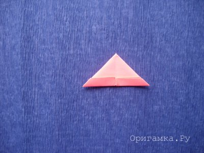 """Мастер-класс """"Мышка"""" в технике модульное оригами"""