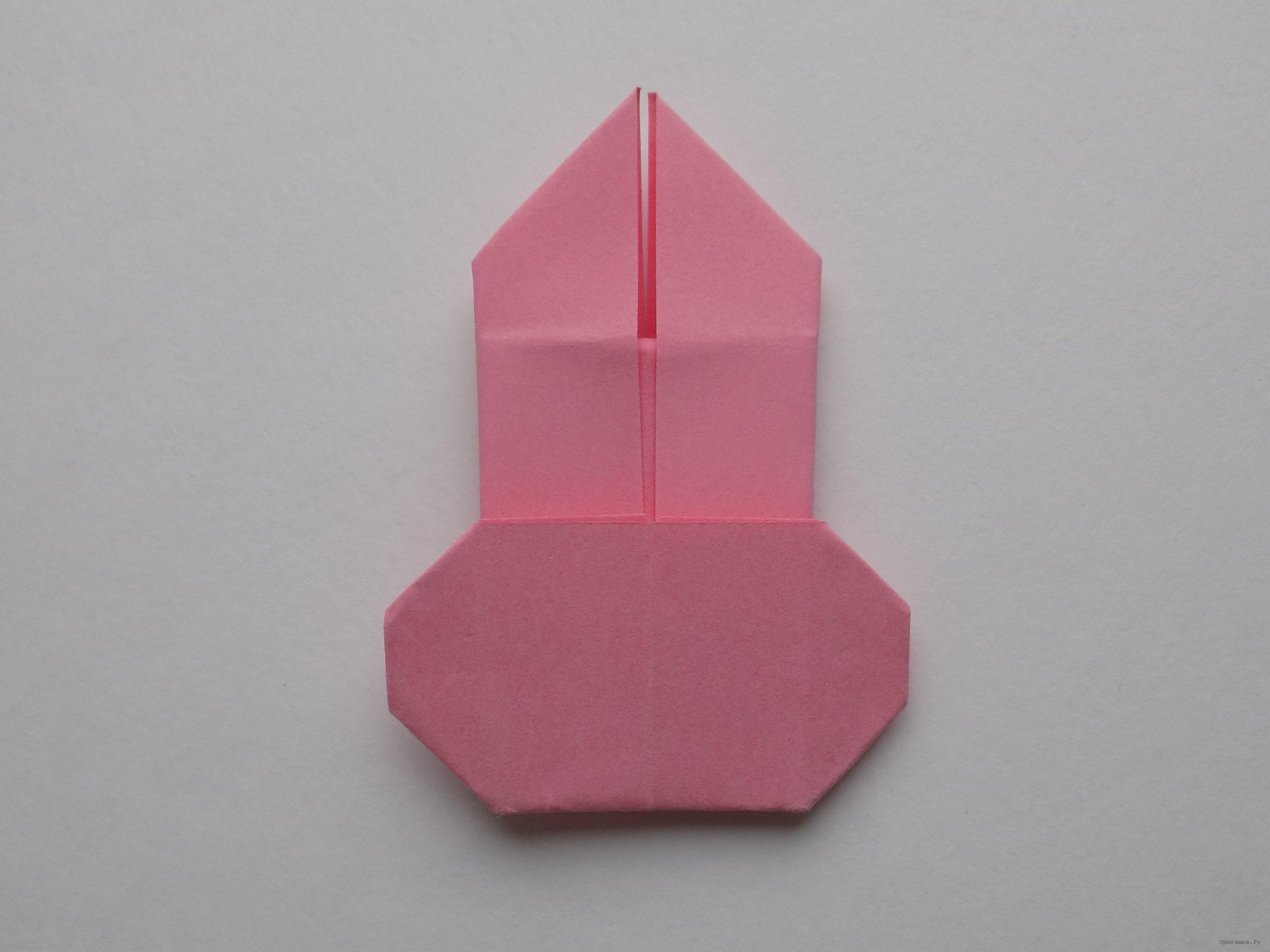 Как сделать модульное оригами зайчик фото 589