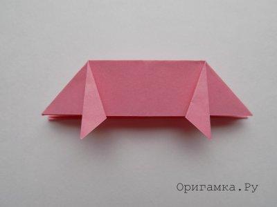 Поросенок из бумаги