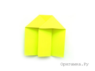 Гриб в технике оригами